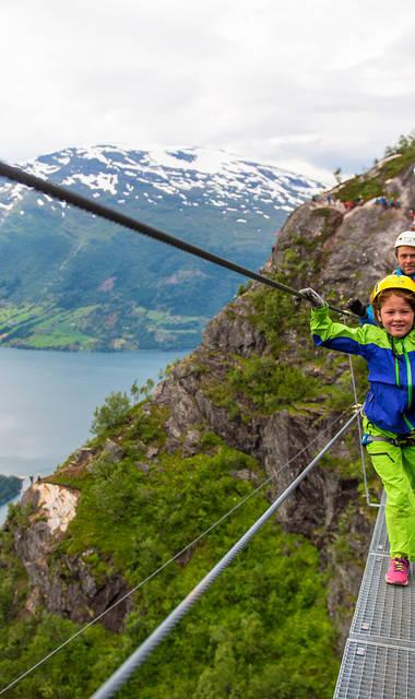 18-daagse familiereis incl. ferry-overtochten Noorwegen met de kids