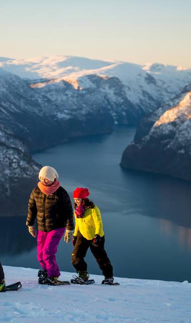 6-daagse rondreis Winters Fjord Avontuur